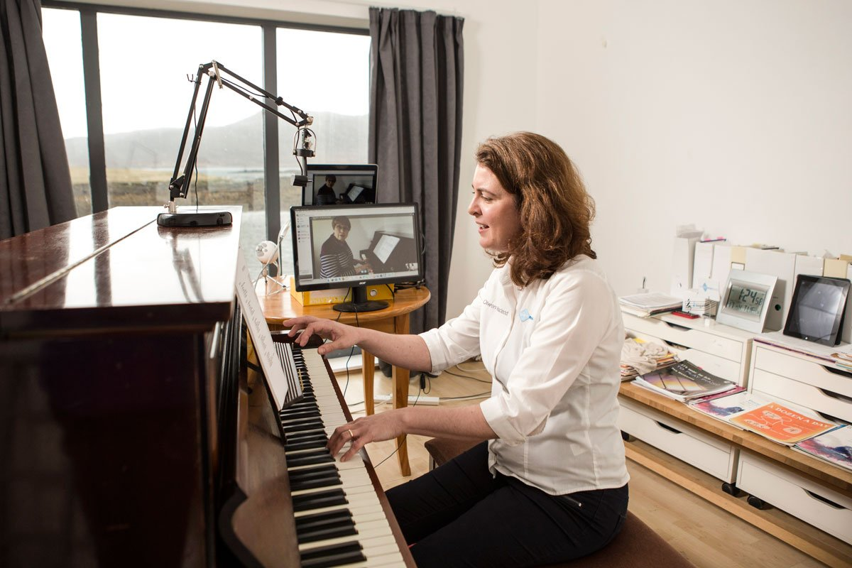 Online Piano Lessons - Meet your teacher on Skype or Zoom